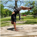 D4 - Handstand at White Rock Lake