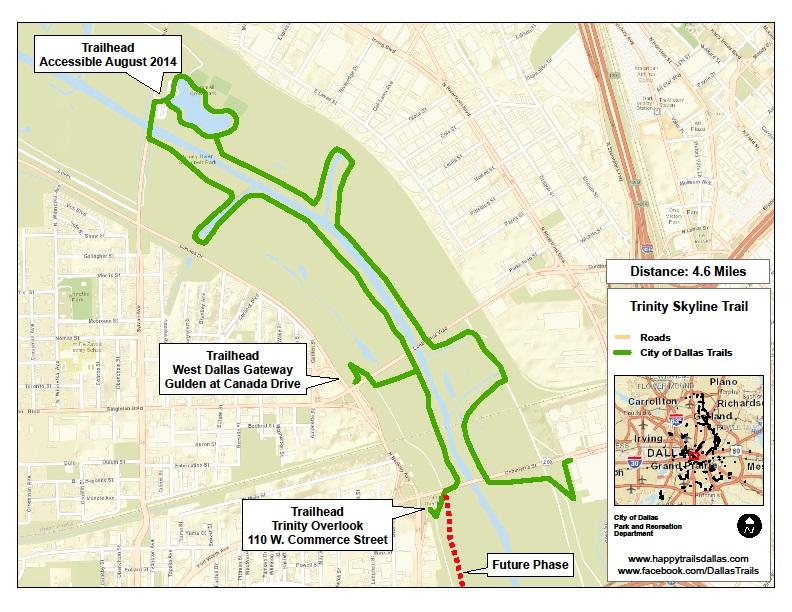 Major Linear Trails | Dallas Parks, TX - Official Website