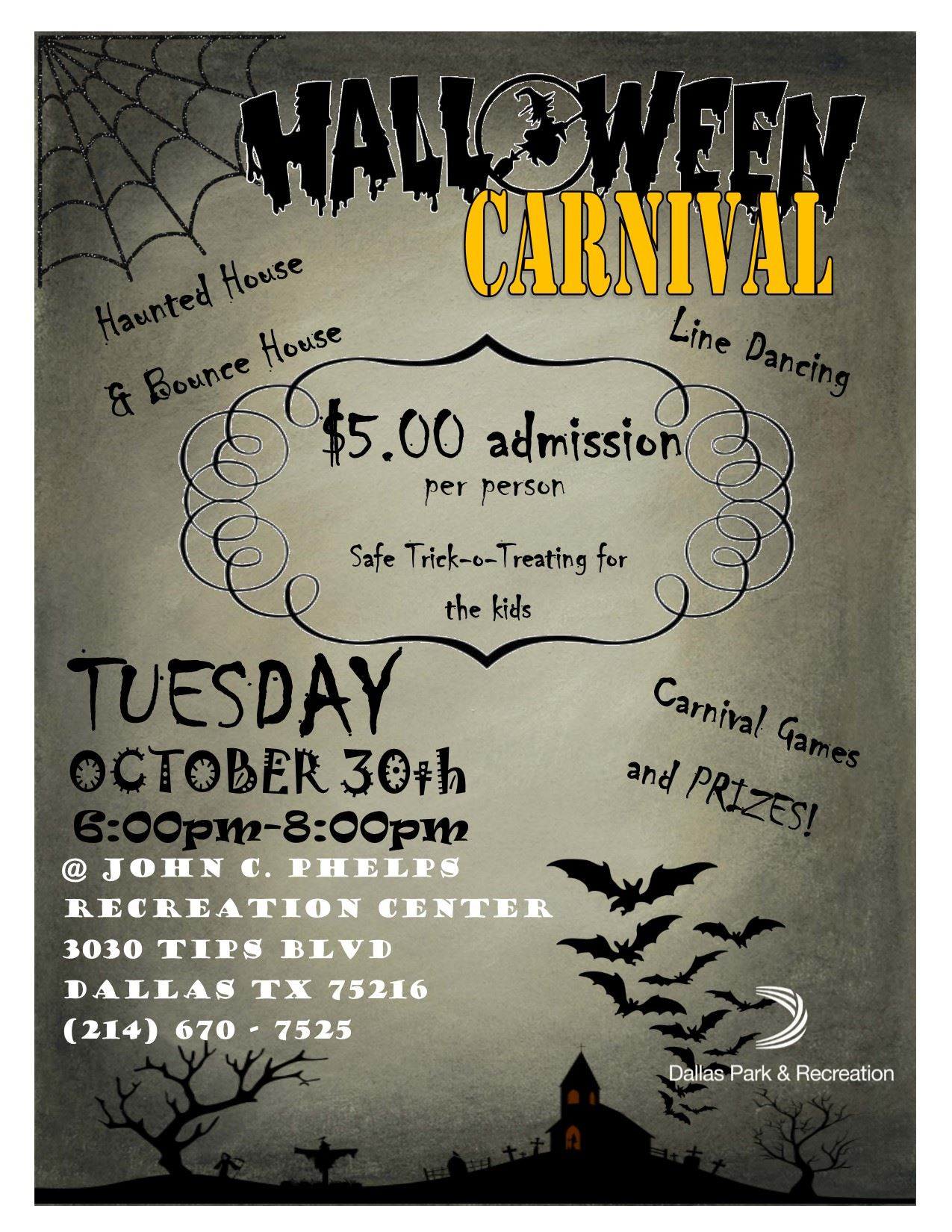 Halloween Carnival Games For Kids.Dallas Parks Tx Official Website