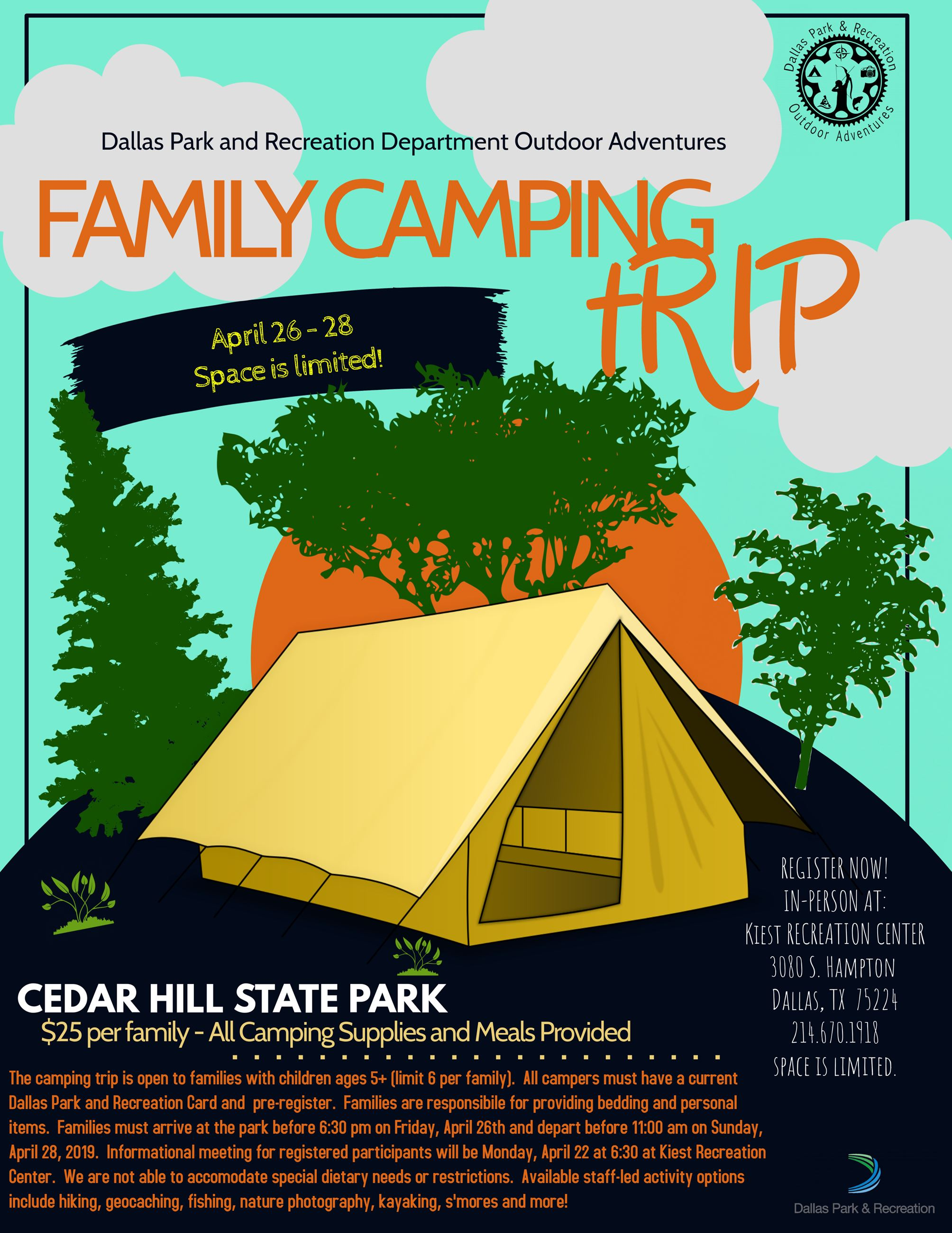 Camping Flyer CHSP 4.26.19