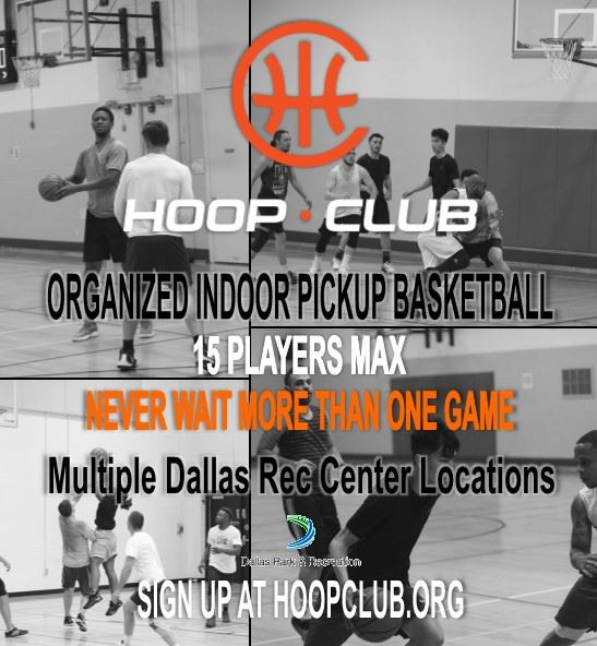 Hoop Club flyer
