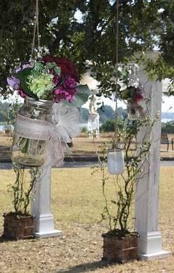 Outdoor weddings dallas parks tx official website hanging flowers winfey point wedding junglespirit Choice Image