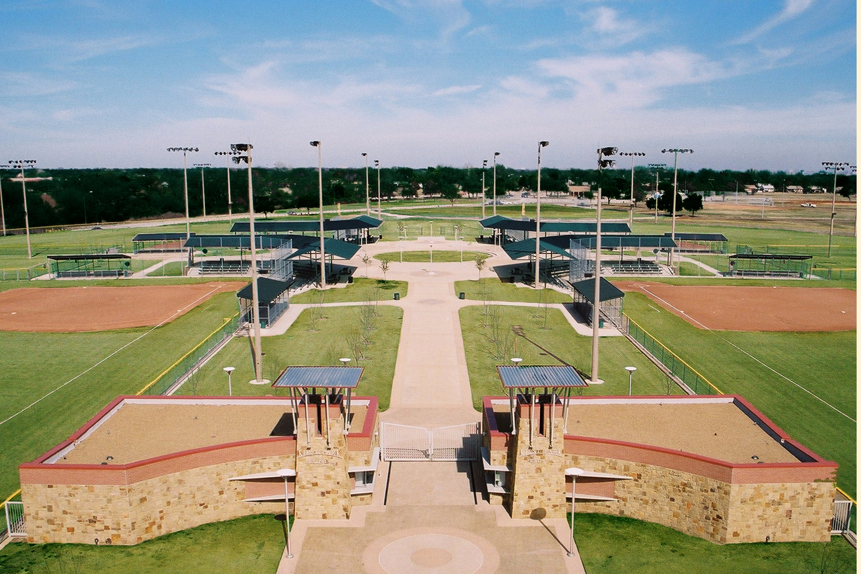 Softball Complex Overview